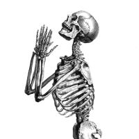 Awaiting the End skeleton