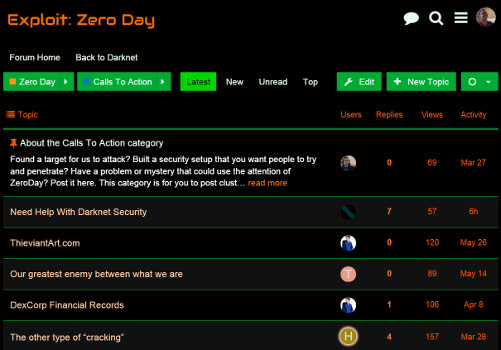 Roleplaying in Exploit: Zero Day