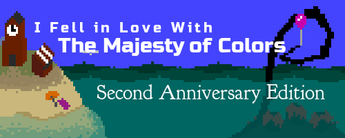 "Second Anniversary Edition  of ""The Majesty of Colors"" Surfaces May 28"