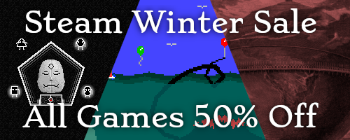 Steam Winter Sale - 50% Off Our Games
