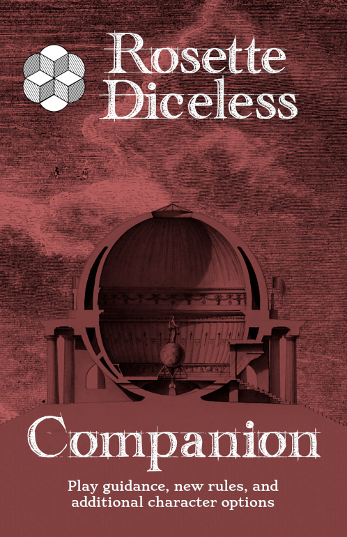 Rosette Diceless Companion Cover
