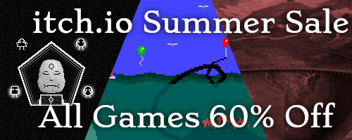 The itch.io Summer Sale is Here!
